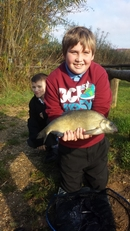 Danny on the bream