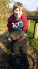 Danny catching Bream
